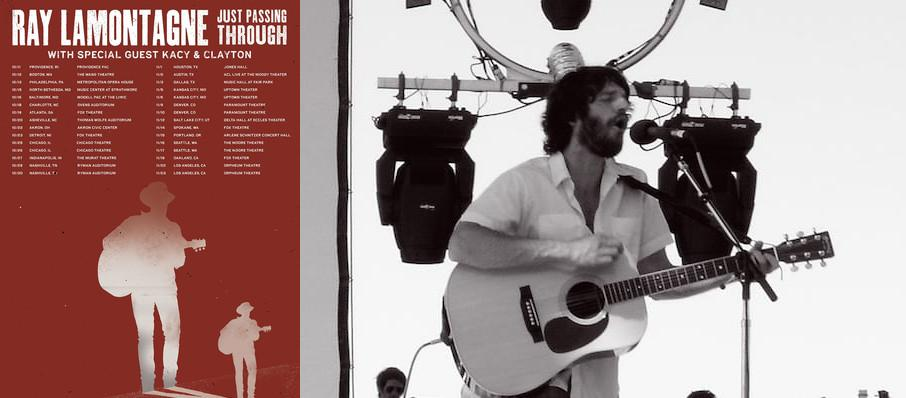 Ray LaMontagne at BJCC Concert Hall