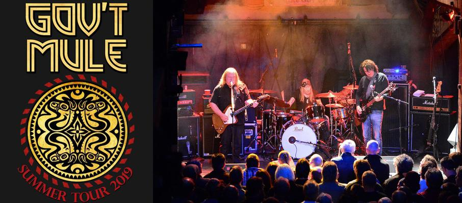 Govt Mule at The Lyric Theatre - Birmingham