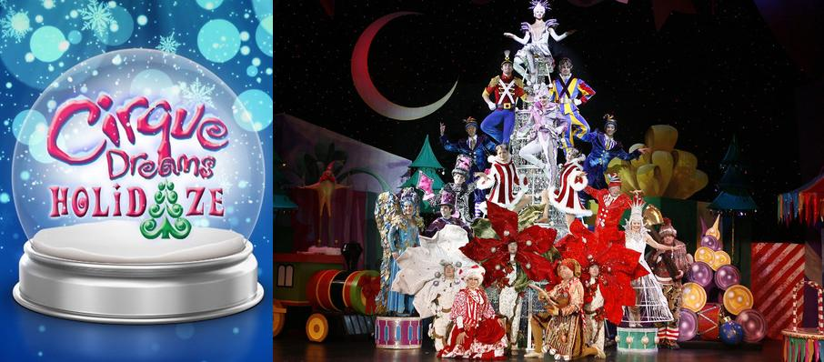Cirque Dreams Holidaze at BJCC Concert Hall