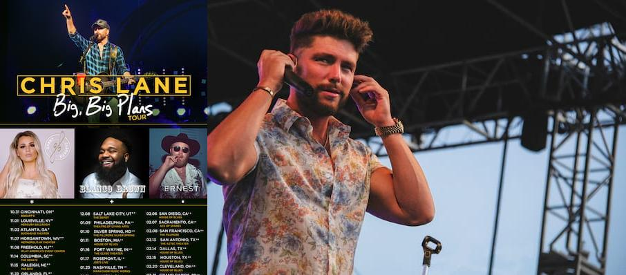 Chris Lane at Druid City Music Hall