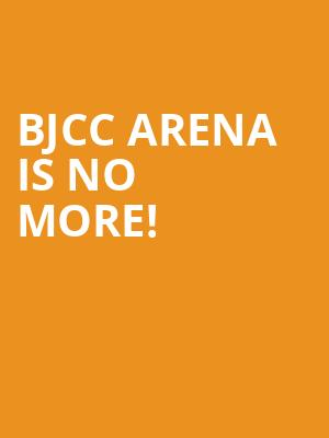 BJCC Arena is no more