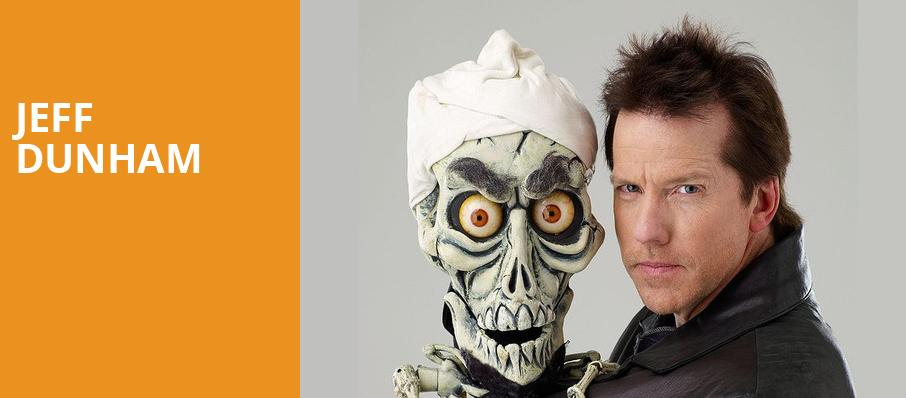 Jeff Dunham, Legacy Arena at The BJCC, Birmingham