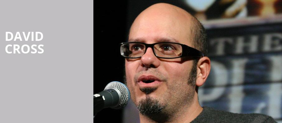 David Cross, The Lyric Theatre Birmingham, Birmingham