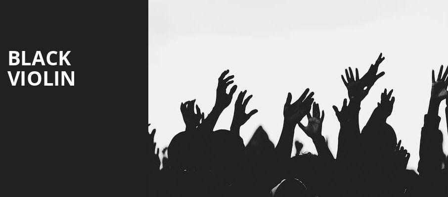 Black Violin, The Lyric Theatre Birmingham, Birmingham