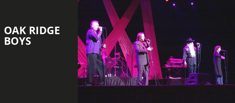 Oak Ridge Boys, Alabama Theatre, Birmingham