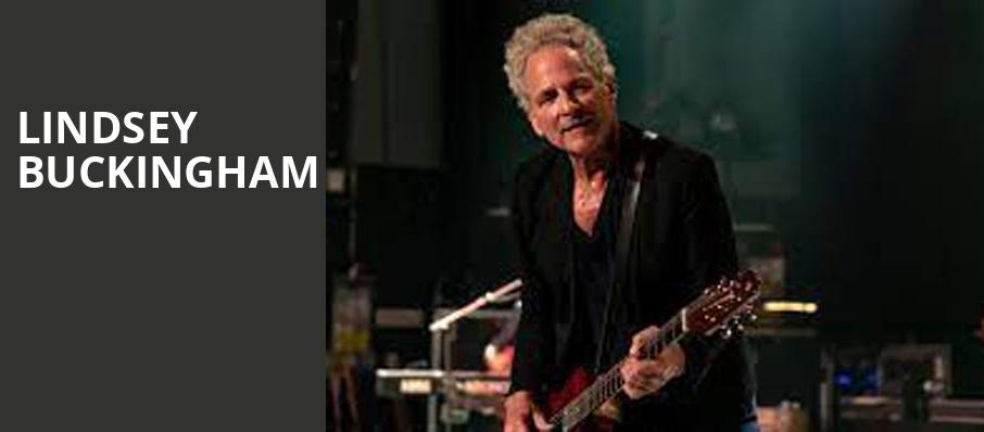 Lindsey Buckingham, The Lyric Theatre Birmingham, Birmingham