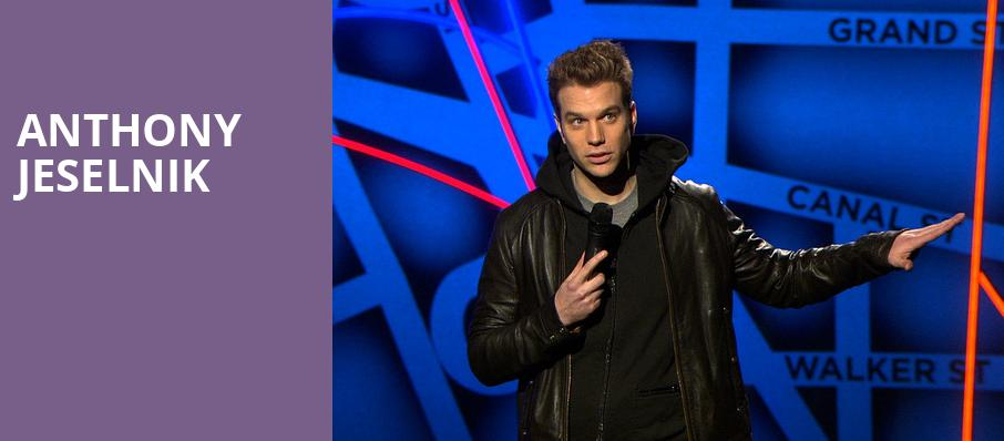 Anthony Jeselnik, The Lyric Theatre Birmingham, Birmingham